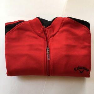 Callaway Men's Golf quarter zip up size M